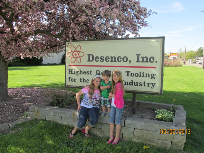 Marissa, Allie and Michael at Desenco - Click to Enlarge